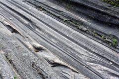 冰河凹线 库存照片