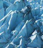 冰河峰顶 库存照片