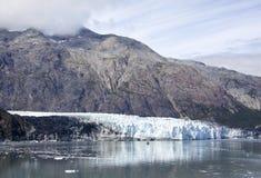 冰河海湾横向 图库摄影
