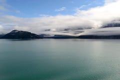 冰河海湾阿拉斯加 库存照片