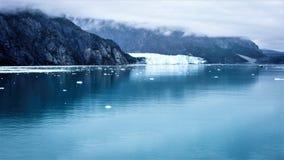 冰河海湾, Margerie冰川,阿拉斯加 免版税库存照片