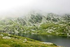 冰河湖 图库摄影
