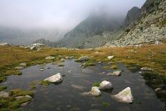冰河湖 免版税库存照片