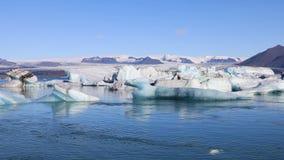 冰河湖Jokulsarlon,冰岛惊人的看法  影视素材