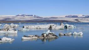 冰河湖Jokulsarlon,冰岛 股票录像