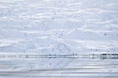 冰河的洪水 免版税库存图片