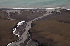 冰河滥伐1 库存照片