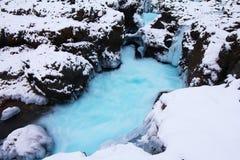 冰河水池 库存照片