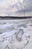 冰河 免版税库存图片