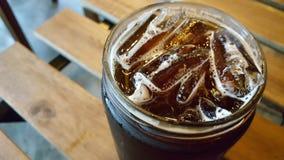 冰浓咖啡 库存照片