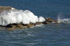 冰海岛 库存照片