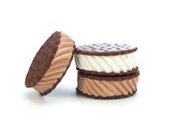 冰淇凌三明治 免版税库存照片