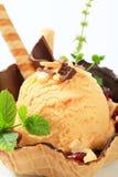 冰淇凌圣代冰淇淋 库存图片