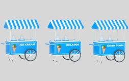 冰淇凌汽车 图库摄影
