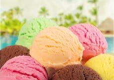冰淇凌瓢 免版税图库摄影