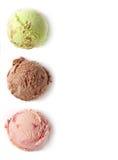 冰淇凌瓢 库存照片