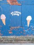 冰淇凌立场 免版税库存照片