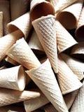 冰淇凌薄酥饼 库存图片