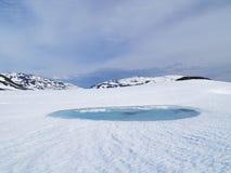 冰湖 库存图片