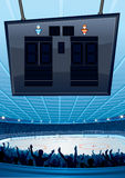 冰球背景 库存图片