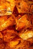 冰用可乐 免版税图库摄影