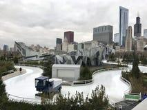 滑冰的丝带 免版税图库摄影