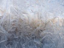 从冰的冬天样式 免版税库存照片
