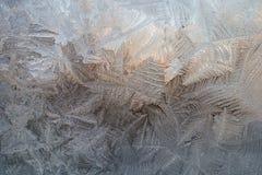 从冰的冬天样式 库存图片