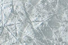 滑冰的冰圆环纹理 免版税库存图片