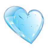 冰的心脏 免版税库存图片