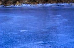 冰的纹理 库存图片