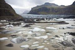 冰盐水湖 库存照片