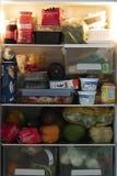 冰箱内部 库存照片