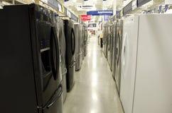 冰箱装置 免版税库存照片