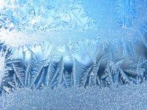 冰纹理。 库存图片