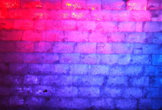 冰纹理墙壁 库存图片