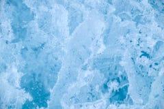 冰纹理背景 库存照片