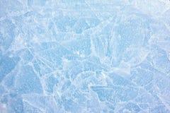 冰纹理 免版税库存图片