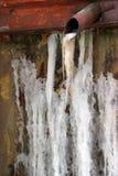 冰纹理 库存照片