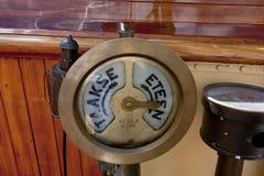 破冰船Tarmo的设备 科特卡,芬兰16 07 2017年 免版税库存图片
