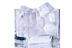 冰花瓶 库存图片
