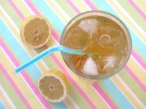 冰茶 免版税库存照片