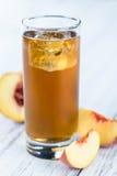 冰茶& x28; Peach& x29; 库存照片