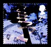 冰螺旋,圣诞节2003年-兵马俑serie,大约2003年 免版税图库摄影