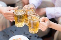 冰镇啤酒 图库摄影