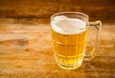 冰镇啤酒 免版税图库摄影