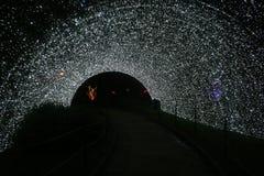 冰隧道 免版税库存图片
