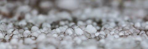 冰雹全景  库存图片