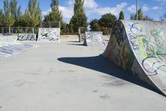 冰鞋公园 库存照片