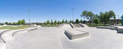 冰鞋公园 免版税图库摄影